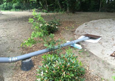 einlaufschacht abwasser leitung hertel toiletten service