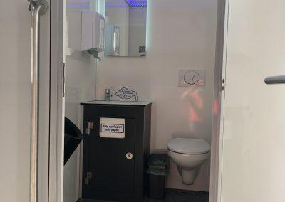 toilettenwagen klein Jahresfeier Zahnarzt hertel toiletten